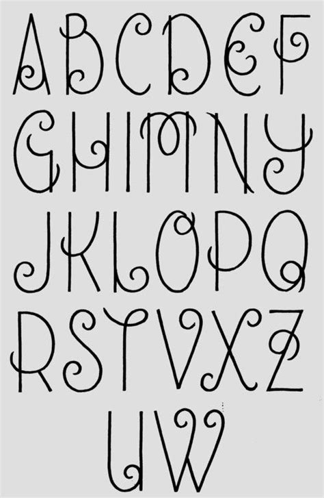 journal hand lettering alphabet font hannah chute sarah chute pinpoint