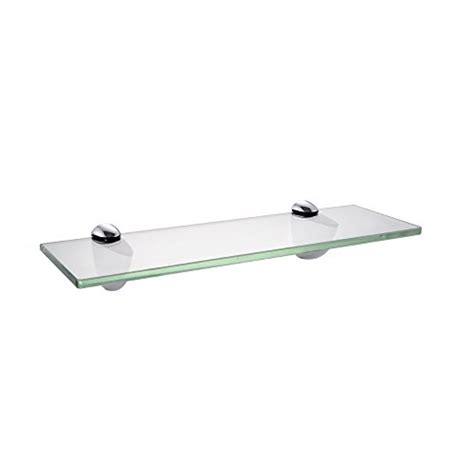 kes bathroom tempered glass shelf 14 quot 8mm thick wall mount