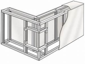 Raumteiler Selber Bauen : raumteiler aus gipsplatten selber bauen anleitung ~ Lizthompson.info Haus und Dekorationen