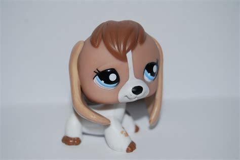 Lps 2207 Littlest Pet Shop Rare Tan Beagle Cow Patterned