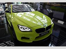 BMW M6 Coupe in Neon Green