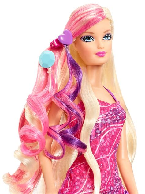 glam hair barbie doll mattel play doll awesome
