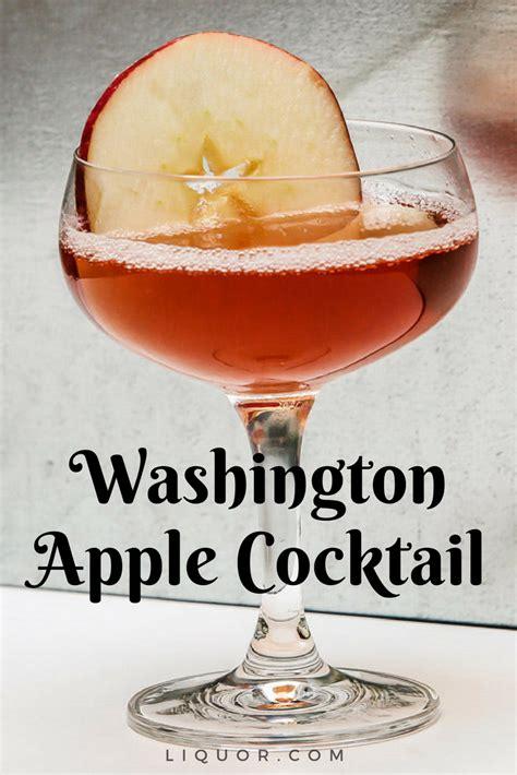 apple washington recipe cocktail drinks