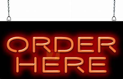 Sign Order Neon