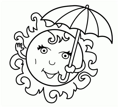 summer coloring pages  kids print