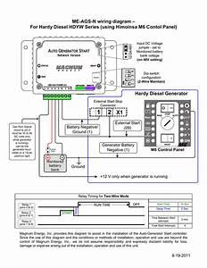 Hdyw Series Generators With M6 Contol Panel Wiring Diagram