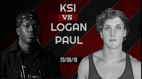 ksi  logan paul official fight date youtube