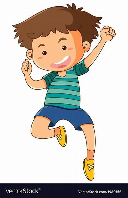 Jumping Boy Clipart Background Vector Svg Transparent
