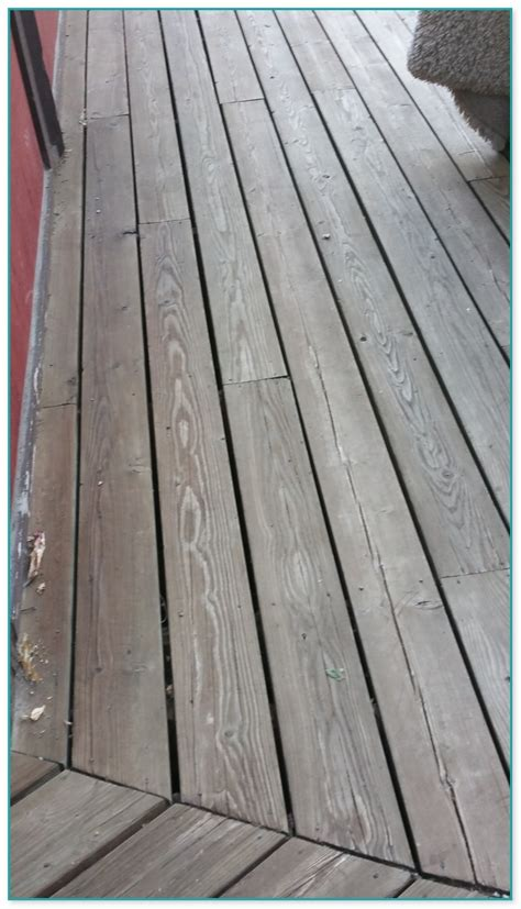 color stain  pressure treated wood deck