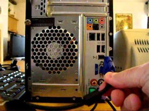 ordinateurs hp de bureau comment brancher un ordinateur de bureau avec ses