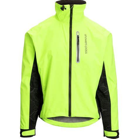 mens fluorescent cycling jacket showers pass hi vis elite jacket men 39 s backcountry com