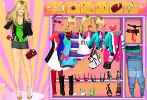 Hannah Montana Dress Up Games for Girls