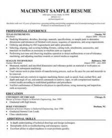 resume format in word 2007 download here is download link for this sle cnc machinist resume