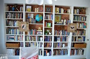Regal Ikea Billy : ikea billy built in bookshelves bookcase styling ~ Watch28wear.com Haus und Dekorationen