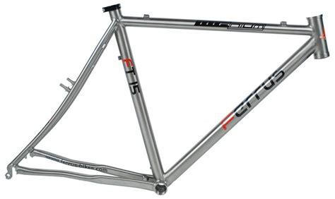 cadre ferrus titane cyclo cross ft15 3al 2 5v verni promo