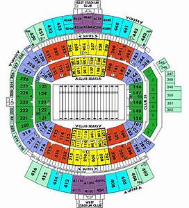 Seating Chart For Gator Bowl Everbank Field Tickets
