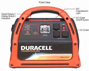 Duracell Powerpack 600  Fm Radio  Jumper