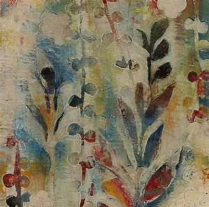 Garden Fragments B by Jody Hewitt Brimhall (Encaustic