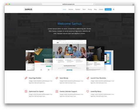 40+ Best Wordpress Corporate Business Themes Of 2017 For