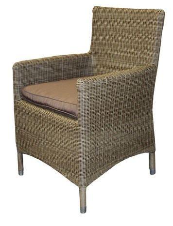 fauteuil de jardin r 233 sine tress 233 e olbia gris