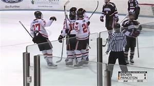 Men's Hockey Highlights: Princeton vs. Brown - 2/24/17 ...