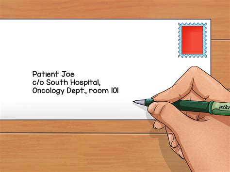 How To Address Envelopes In Care Of