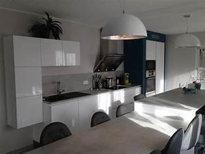 Cuisine Avec Ilot : cuisine avec lot cuisines habitat ~ Melissatoandfro.com Idées de Décoration