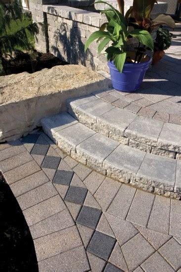 Unilock Steps - paver steps by unilock with series 3000 photos