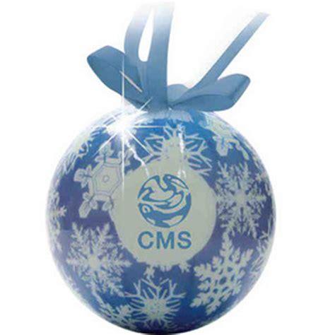 ball christmas ornaments custom imprinted with your logo