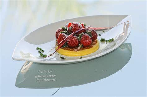 recette cuisine gastronomique tarte aux fraises déstructurée
