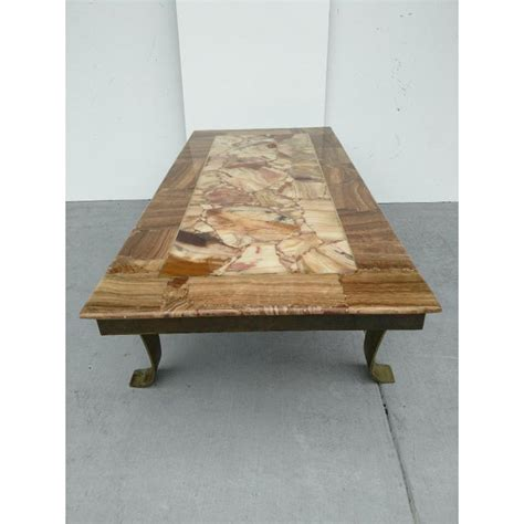 Novica, the impact marketplace, features unique mexican coffee tables and ideas handcrafted by talented artisans worldwide. Mexican Pieced Onyx Stone Top Cocktail Table, Mid-Century   Chairish