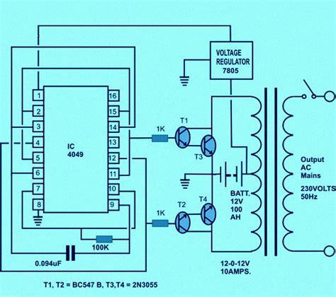 circuit diagram of solar inverter for home how solar