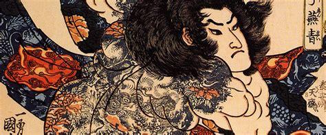 irezumi histoire du tatouage au japon terres dasie