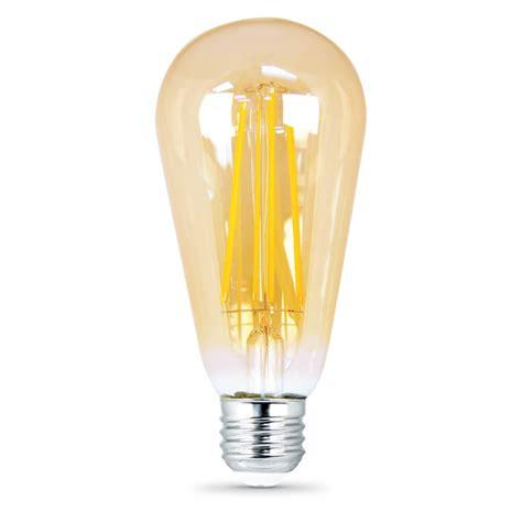470 lumen 2700k dimmable vintage led st19 feit electric