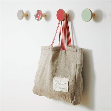 wall hooks wooden coat hangers chocolate creative