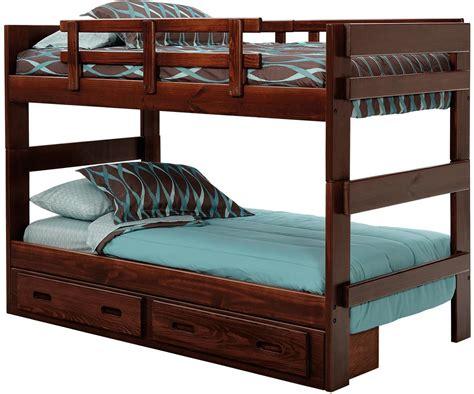 Woodcrest Heartland Split Bunk Bed With Storage Mueller