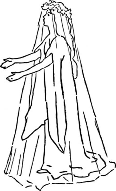 pengantin  pernikahan gaun clip art vektor clip art