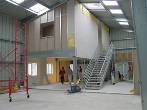 Mezzanine Metallique En Kit : hangar m tallique galco bipente jumel s int rieur et ~ Premium-room.com Idées de Décoration