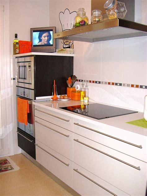 decoracion de cocinas rectangulares