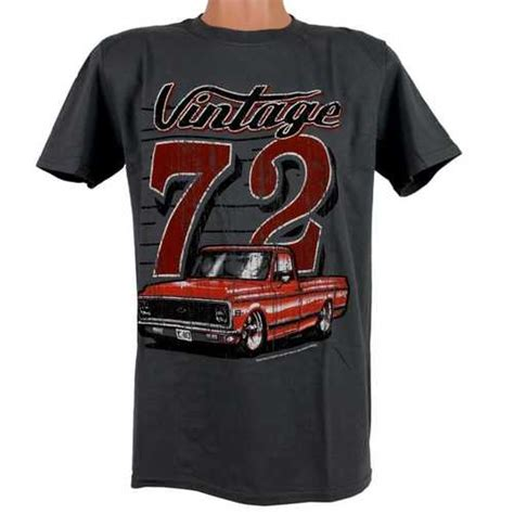 Chevy C10 Truck T Shirt  Vintage 72' C10 Truck