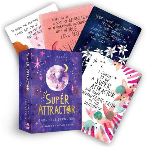 Gabby bernstein's super attractor deck offers 52 beautifully illustrated cards featuring mantras from her bestselling. Super Attractor Cards - Happy Glastonbury