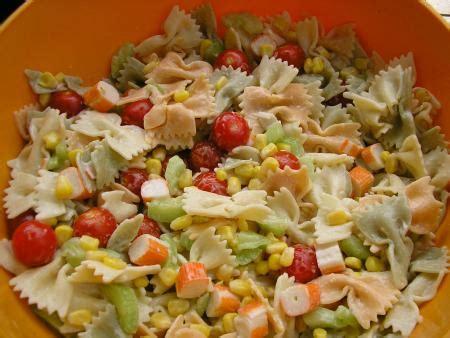 recette de salade de pates froide au poulet recette salade de p 226 tes classique 750g