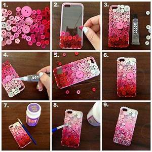 DIY Easy Mobile Phone Case Decoration Ideas - Step by step