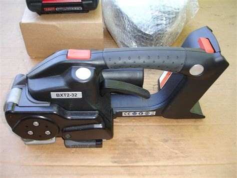 signode bxt  battery operated plastic polyester strapping machine    ebay