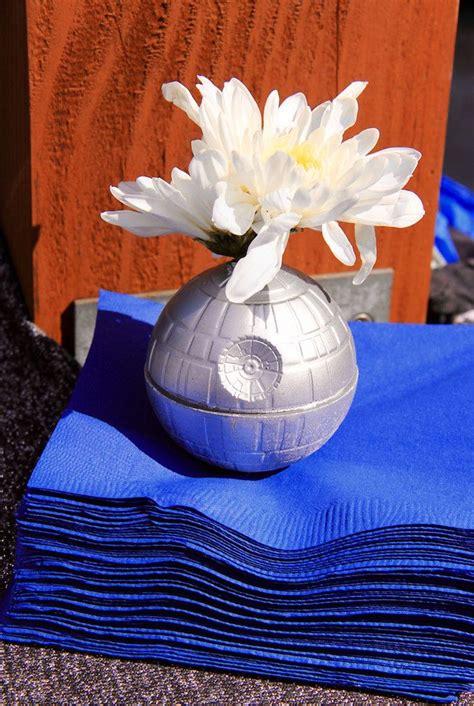 karas party ideas death star floral propnapkin weight