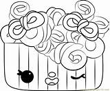 Frenchie Coloring Pages Curls Num Noms Coloringpages101 sketch template