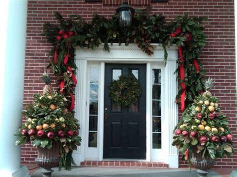 christmas decorations on the door 50 best christmas door decorations for 2018