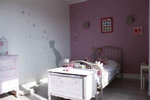 Deco chambre gris et rose for Chambre enfant gris et rose