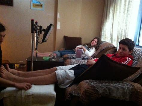 foot massage  kids photo