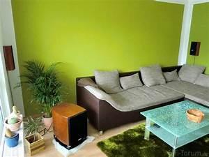 Wohnzimmer Ideen Grün : gr nt ne wandfarben ~ Lizthompson.info Haus und Dekorationen